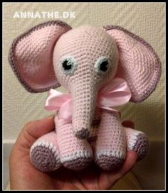 Opskrifter - gratis Knitting For Kids, Baby Knitting Patterns, Amigurumi Patterns, Crochet For Kids, Baby Patterns, Crochet Patterns, Crochet Gratis, Crochet Toys, Crochet Baby