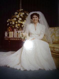 Italian Vintage Wedding Dress 1960s
