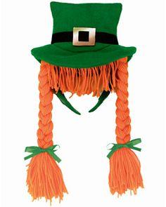 St. Patrick's Day Braided Headband
