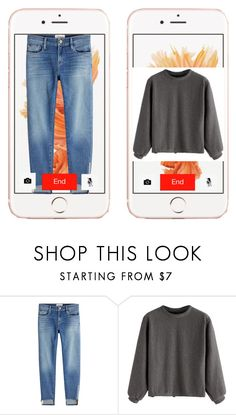 """""""Untitled #49"""" by almabi ❤ liked on Polyvore featuring Frame"""