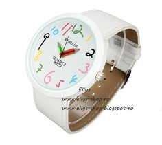 Cheap watch big, Buy Quality watch brand directly from China watch brand women Suppliers: Hot Sales 2015 hot Brand Women watches Big Case Pointer Girls Leather Strap Quartz White Pencil Wrist Watch Color Turquesa, White Pencil, Funny Design, Fashion Watches, Jewelry Watches, Women's Watches, Quad, Leather, Accessories