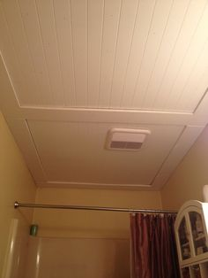 Beadboard Ceiling Ideas Our Beadboard Bathroom Ceiling