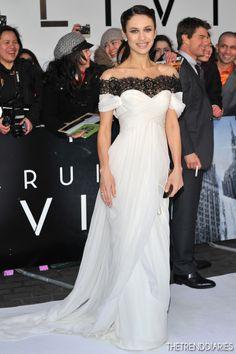 Olga Kurylenko at the 'Oblivion' UK Film Premiere held at the BFI Imax in London, England - April 4, 2013