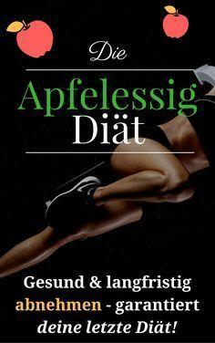 Apfelessig Diät - verliere mit dieser Diät endlich Gewicht. Gesund abnehmen und schnell abnehmen - ernsthaft!