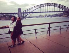 Sydney Harbour Bridge with my French babe...who is leaving me for 3 months tomorrow. Going to miss my travel buddy!  #Sydney #newsouthwales #australia #sydneyharbourbridge by lilo.29 http://ift.tt/1NRMbNv