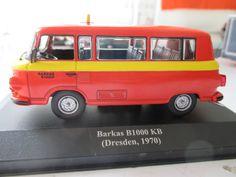 TAXI  BARKAS  B 1000 KB   ( Dresden  ,1970 )  escala 1 / 43  Nuevo