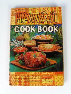 vintage The Pacifica House Hawaiian Island Recipes cookbook - FitzGerald - 1960s. $7.00, via Etsy.