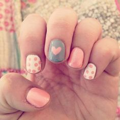 lovely,summer,girls, nail polish