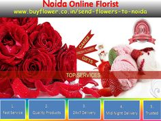 We are send flowers And Gifts to Noida and all over India. http://www.buyflower.co.in/send-flowers-to-noida