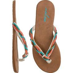 VOLCOM Beach party sandal found on Polyvore