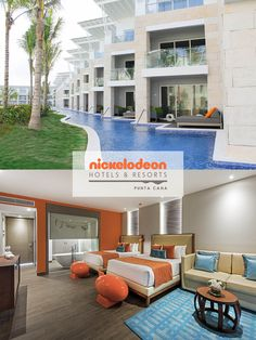 Nickelodeon Resorts & Hotels Punta Cana - all inclusive resort vacation for…