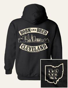 Cleveland sweatshirt.