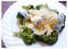 Recetas Light - Adelgazaconsusi: Brócoli gratinado a los 4 quesos y bechamel de calabacín