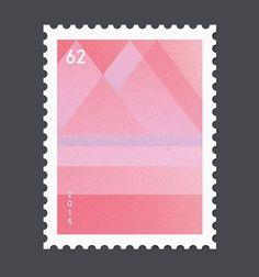 Buchstaben zu Briefmarken