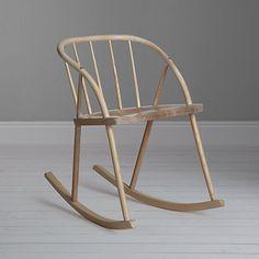 Buy Sitting Firm Eliza Rocker Online at johnlewis.com designed by. Katie Walker