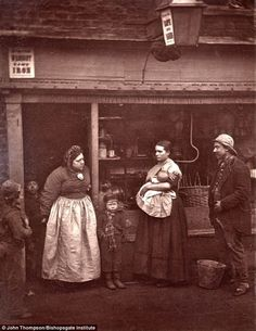 """London Street Life, late 1800s. Click to see the rest. Lots of interesting """"day in the life..."""" shots."""