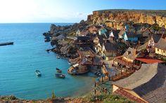 * Ilha de Malta *  Vila de Popeye