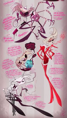 "vivzcast: "" Angel Dust "" I think my hiatus is essentially over. Game Design, Bg Design, Aliens, Character Design Animation, Character Art, Hazbin Hotel Angel Dust, Hotel Trivago, Vivziepop Hazbin Hotel, Drag"