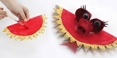 Paper Plate Dragon Craft for your Chinese New Year Display - twinkl