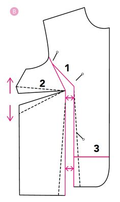 How to make bust adjustments on your sewing patterns