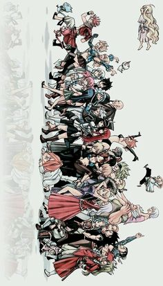 The fairy tail family