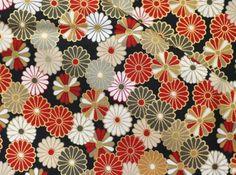 Beautiful  Kimono pattern Japanese fabric by beautifulwork on Etsy