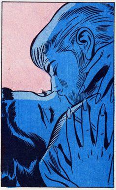 Art by John Buscema Vintage Pop Art, Vintage Cartoon, Vintage Comics, Retro Art, Vintage Kiss, Comic Books Art, Comic Art, Posca Art, Ligne Claire