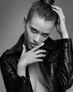 . Attitude, Black Leather, Leather Jacket, Jackets, Natural Beauty, Women, London, Black Patent Leather, Studded Leather Jacket