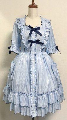 【Physical Drop】フィジカルドロップ ナース風ワンピース・ヘッドドレスセットを販売する通販ページです。 Victorian, Image, Dresses, Style, Fashion, Vestidos, Swag, Moda, Fashion Styles