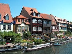 """""""Little Venice"""" in Bamberg, Germany 2012. We saw many sculls & team practices all along the river...for some the  longship wake proved to be difficult !!!"""