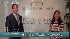 Agent Sylvia Isaacs introduces us to Primoris Wealth Advisors LLC in North Palm Beach!  Dedicated to providing sound investment management & strategic wealth planning for individuals, families, and small businesses!  Contact Sylvia for all of your real estate needs!🐬  #EchoFineProperties #NextWaveInRealEstate #RealEstate #Realtor #PalmBeachCountyRealEstate #LuxuryRealEstate #JupiterRealEstate #FloridaRealEstate #Wealth #Money