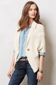 Kittanning Poncho - anthropologie.com