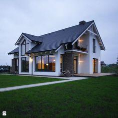 Z CHARAKTEREM 3 - realizacja projektu - Domy, styl nowoczesny - zdjęcie od DOMY Z WIZJĄ - nowoczesne projekty domów