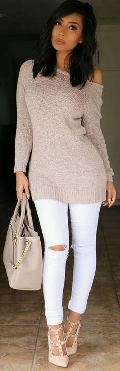 Neutrals / Fashion Look by itsmsmonica