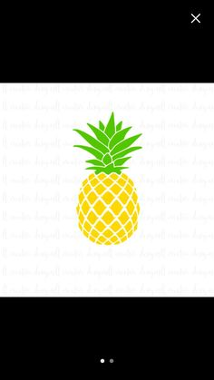 Download Free Pineapple SVG Cut File | Awesome cricut ideas ...