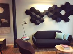 A glimpse of how cool the BeoSound Shape is appearing at the Bang & Olufsen office, the shot is taken by Wireless Speaker System, Speakers, Amazing Architecture, Interior Architecture, Love Sound, Room Acoustics, Bang And Olufsen, Off The Wall, Industrial Design