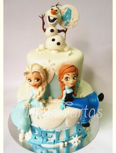 21 Frozen birthday cakes