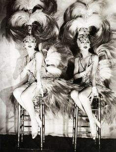 The Dolly Sisters, gelatin silver print, by James Abbe c. 1927