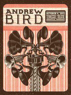 GigPosters.com - Andrew Bird