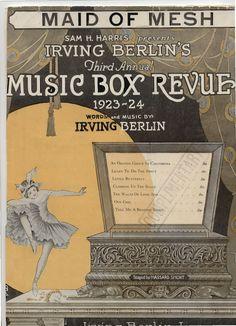 Irving Berlin, 1924, 'Made of Mesh'