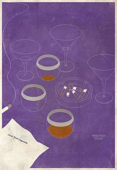 Mad Men: Dinner by bwhitesell, via Flickr