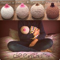 Breast Beanie Crochet Pattern Free Video Tutorial