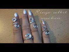 diy ring schicke ringe aus Draht basteln | Schmuck | Pinterest ...