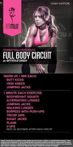 Home full body Workout