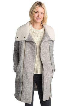 Esprit / Jacke in softer Bouclé-Optik