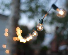 Twinkle lights make outdoor entertaining SPARKLE