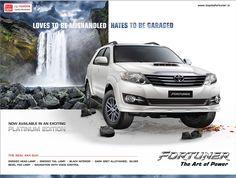 Toyota Fortuner on Behance