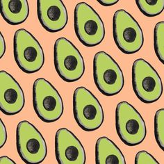 Avocados. #the100DayProject #100daysofSFPatterns  @Sara Combs