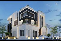 Modern villa in kuwait ( abo ftera ) .
