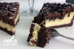 Mennonite Girls Can Cook: Coffee Time Coconut Brownies Brownie Recipes, Cake Recipes, Chess Cake, Coffee Brownies, Coconut Brownies, Pudding Cake, Eat Dessert First, Turkish Recipes, Food Cakes